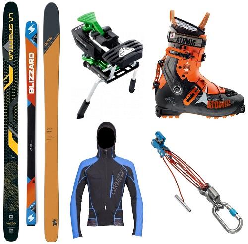 New ski gear